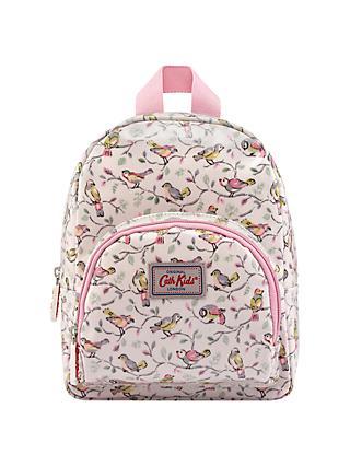 Cath Kids Children S Little Birds Print Mini Rucksack Pink