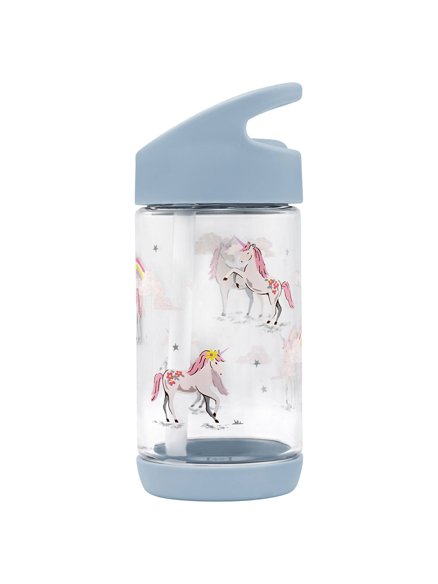 Buy Cath Kids Children's Unicorns And Rainbows Drinks Bottle, Blue Online at johnlewis.com