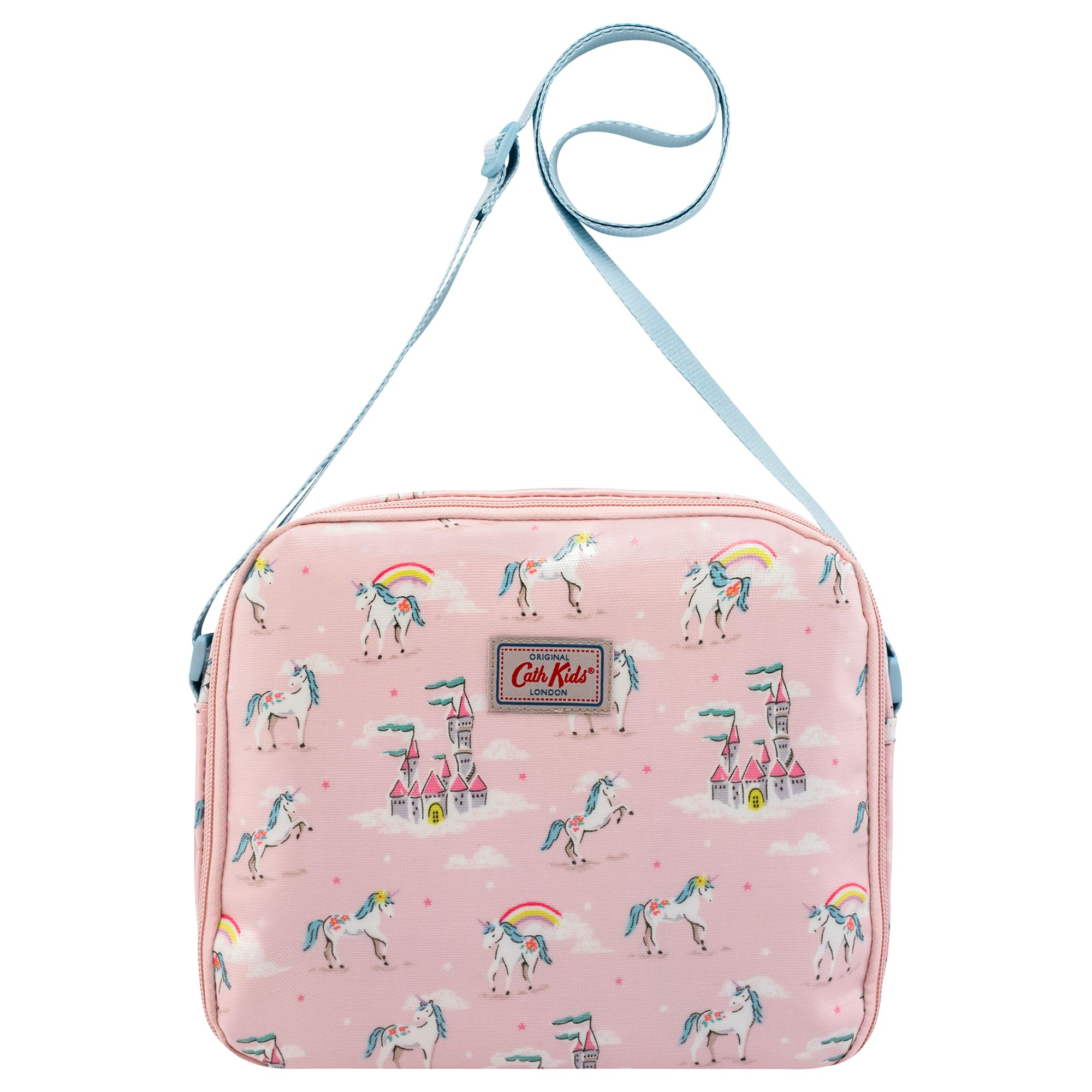 5cab1eaf52 Cath Kids Children's Unicorns And Rainbows Lunch Bag, Pink at John Lewis &  Partners