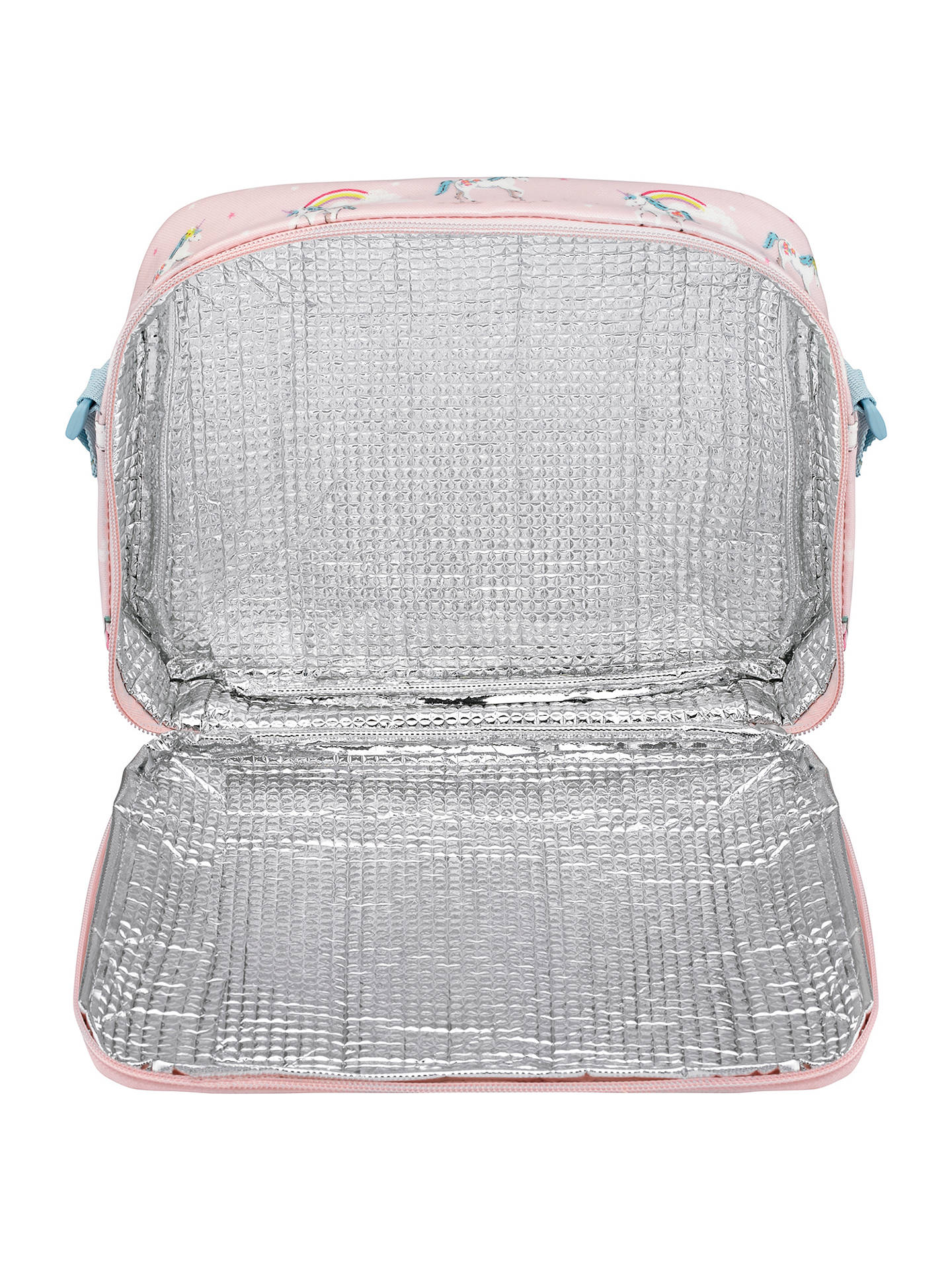 Buy Cath Kids Children's Unicorns And Rainbows Lunch Bag, Pink Online at johnlewis.com