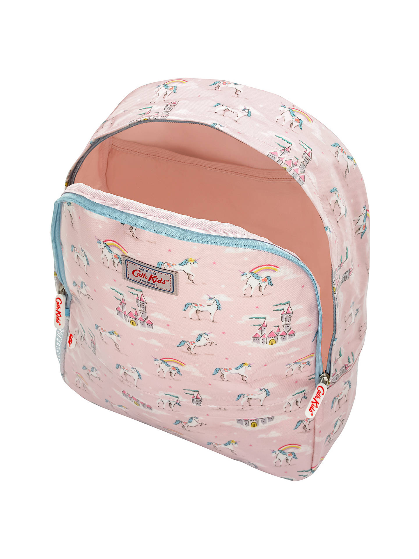 BuyCath Kids Children's Unicorns And Rainbows Padded Rucksack, Pink Online at johnlewis.com