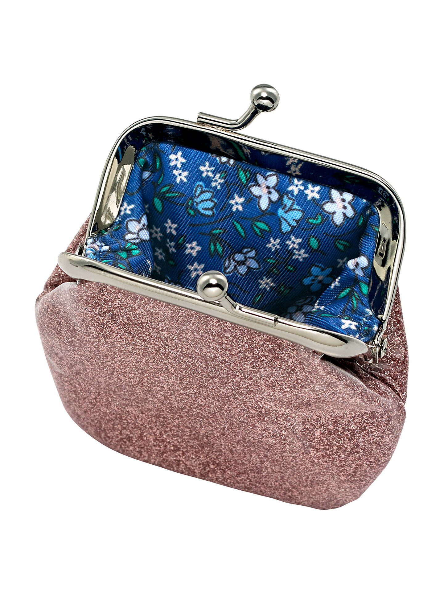 BuyCath Kids Children's Glitter Clasp Purse, Pink Online at johnlewis.com