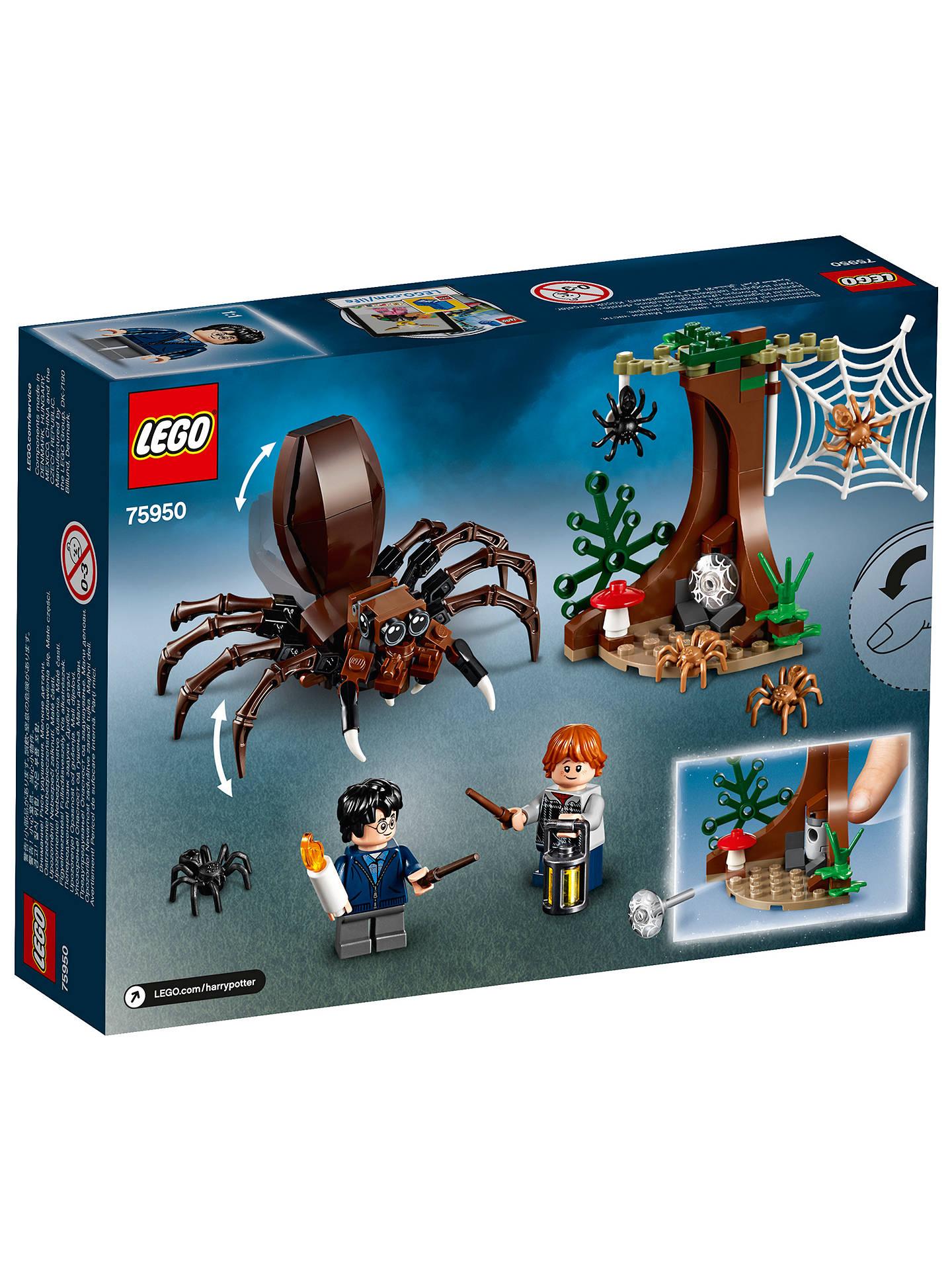 LEGO 75950 Harry Potter Aragog\'s Lair at John Lewis & Partners