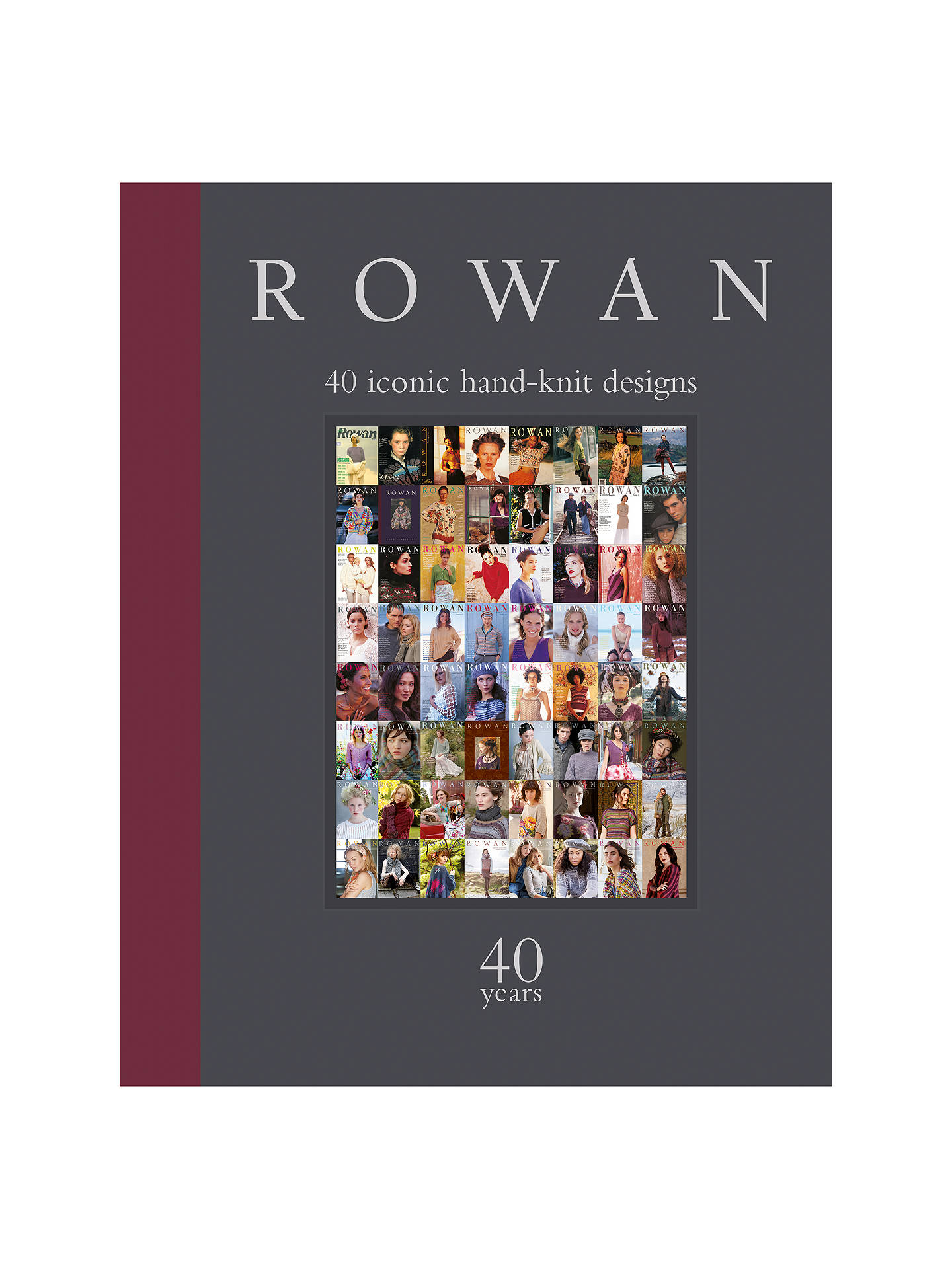 Rowan At 40 Knitting Pattern Book At John Lewis Partners