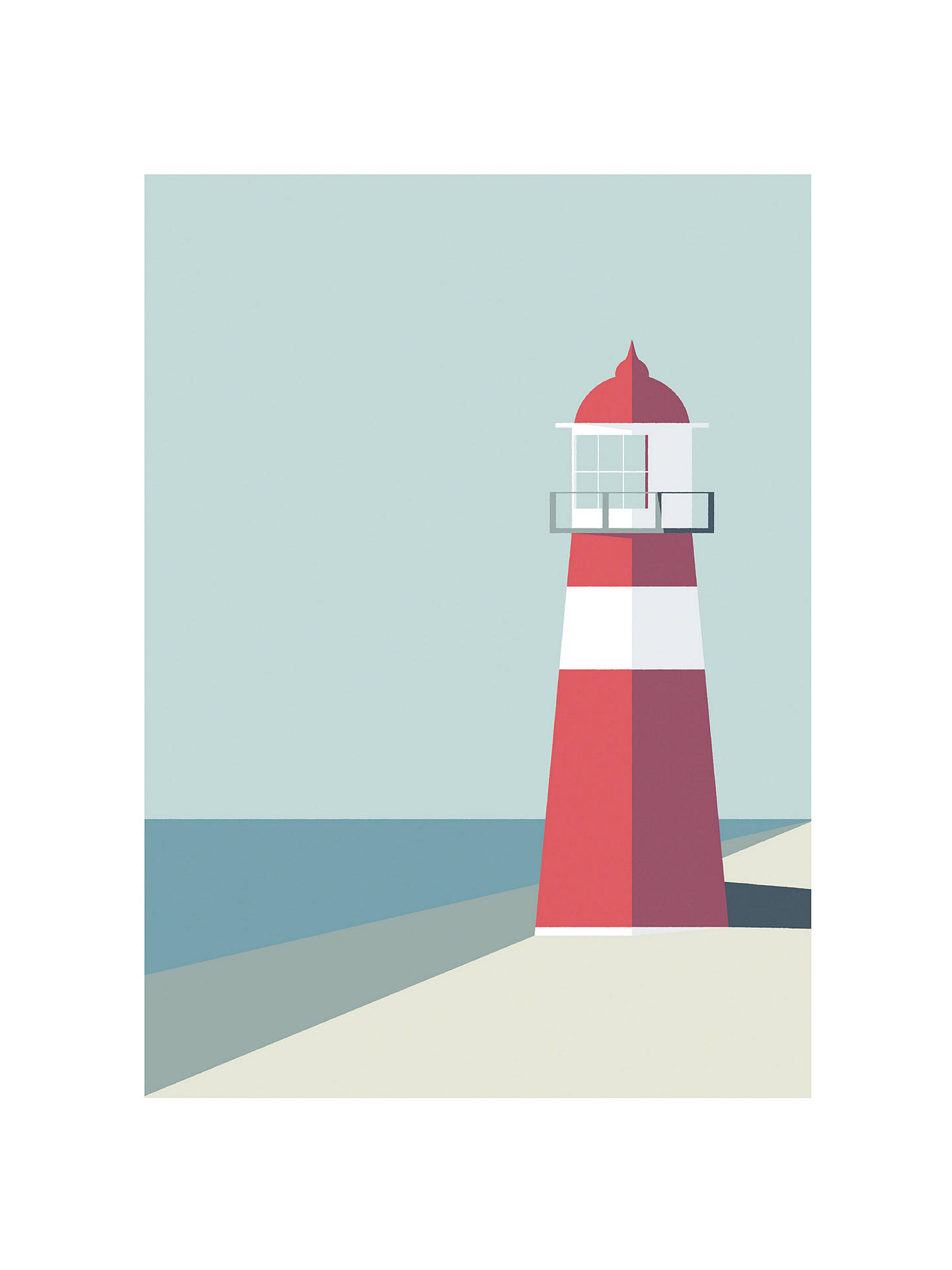 Buy Simon C Page - Nauticus / Lighthouse Unframed Prints, Set of 2, 40 x 30cm Online at johnlewis.com