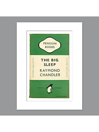 09cecc4d26 Penguin Books - Raymond Chandler The Big Sleep Unframed Print with Mount