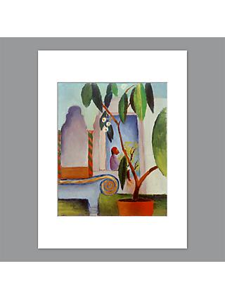 August Macke - Arabic Cafe Unframed Print with Mount, 40 x 30cm