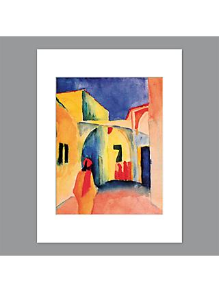 August Macke - The Casbah Unframed Print with Mount, 40 x 30cm