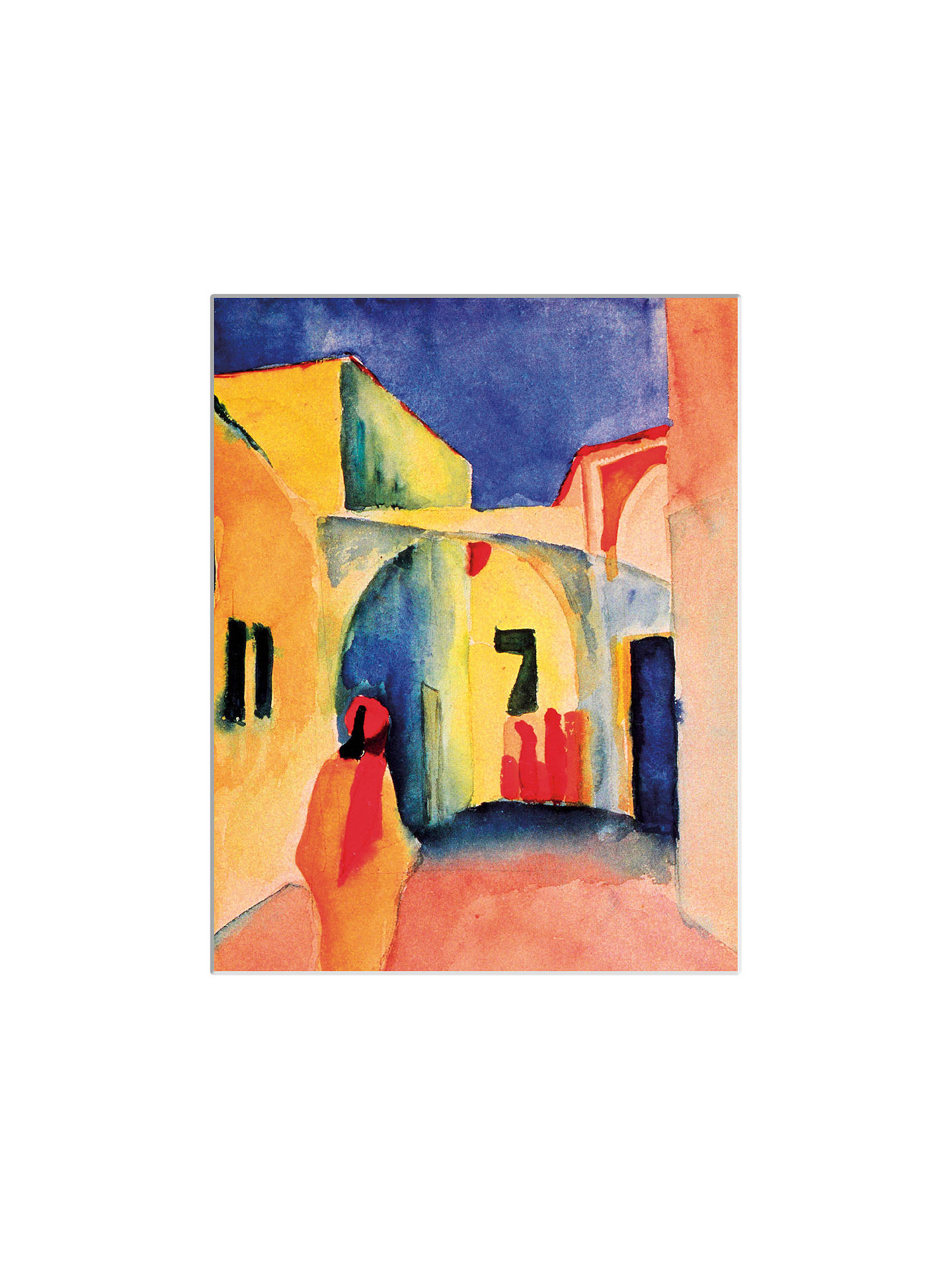 BuyAugust Macke - The Casbah Unframed Print with Mount, 40 x 30cm Online at johnlewis.com