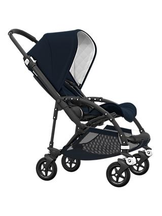 Bugaboo Bee 5 Classic Pushchair, Dark Navy/Black