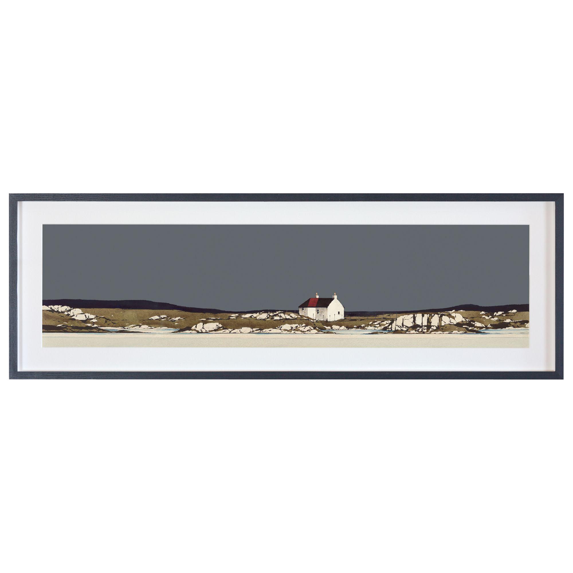 Unbranded Ron Lawson - Traigh Mhor Barra Framed Print & Mount, 36 x 108cm