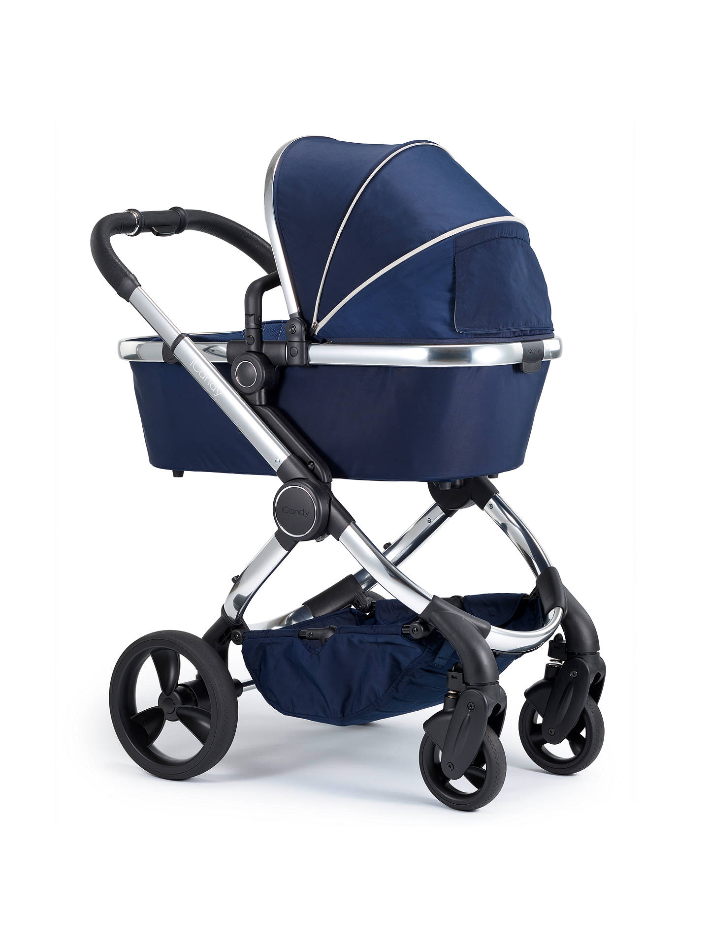 8ad64a820a4a iCandy Peach Chrome Pushchair and Carrycot