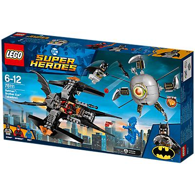 LEGO DC Super Heroes 76111 Batman Brother Eye Takedown