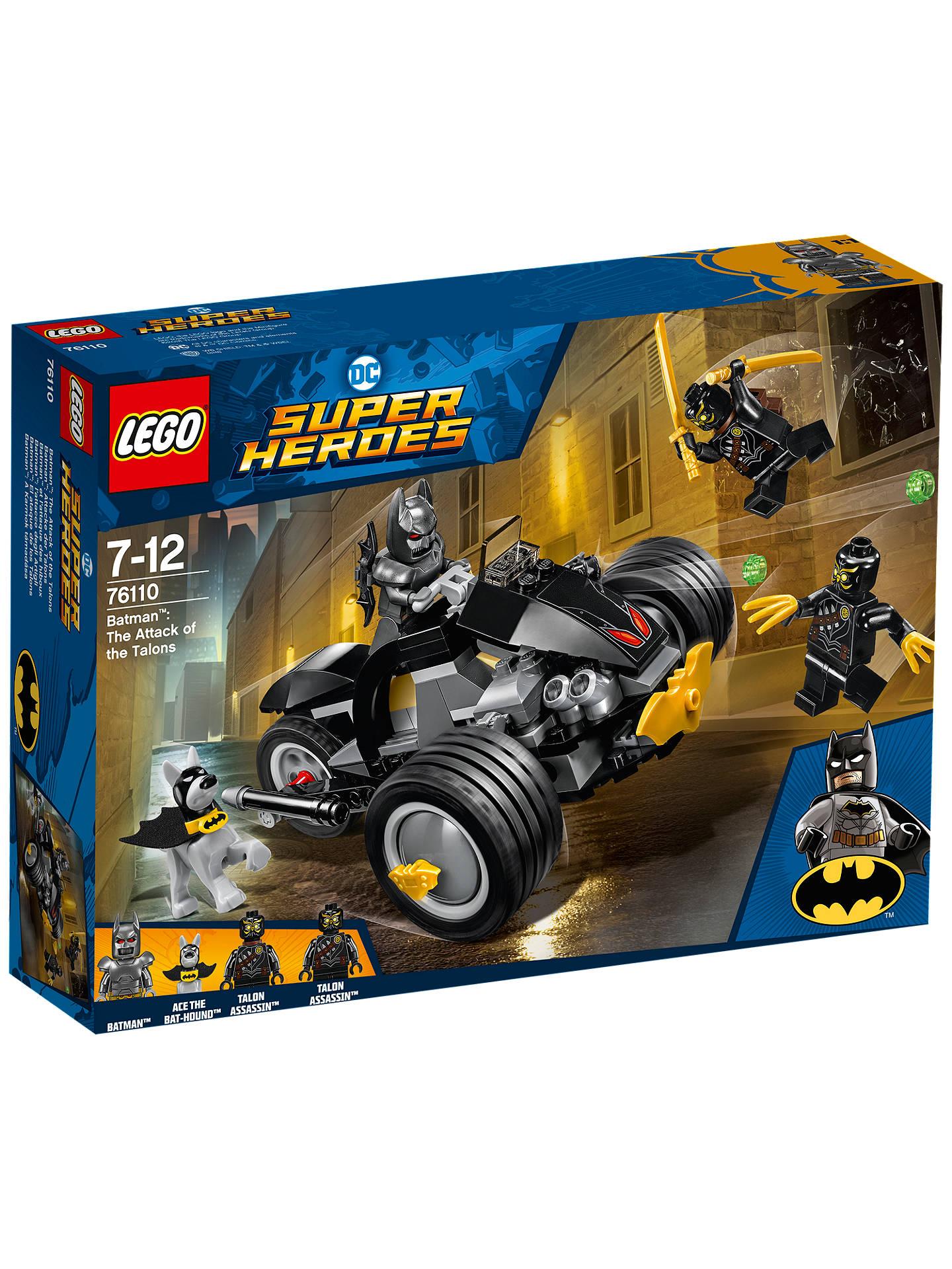 LEGO DC Super Heroes 76110 Batman Attack Talons