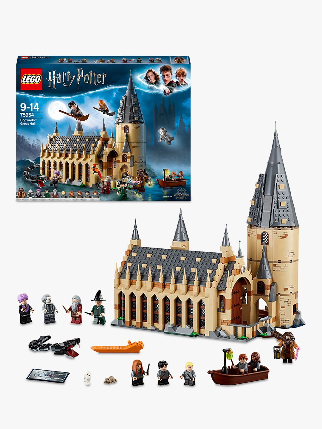 Buy LEGO 75954 Harry Potter Hogwarts Great Hall Online at johnlewis.com