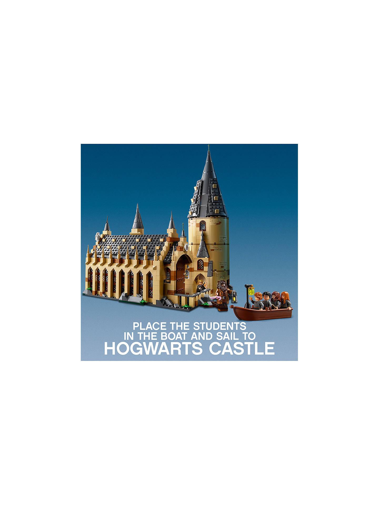 lego 75954 harry potter hogwarts great hall at john lewis. Black Bedroom Furniture Sets. Home Design Ideas