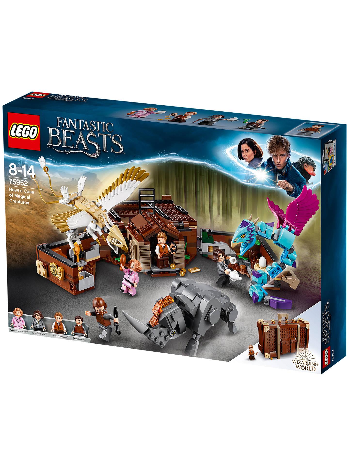 Magnificent Lego 75952 Fantastic Beasts Newts Case Of Magical Creatures Machost Co Dining Chair Design Ideas Machostcouk
