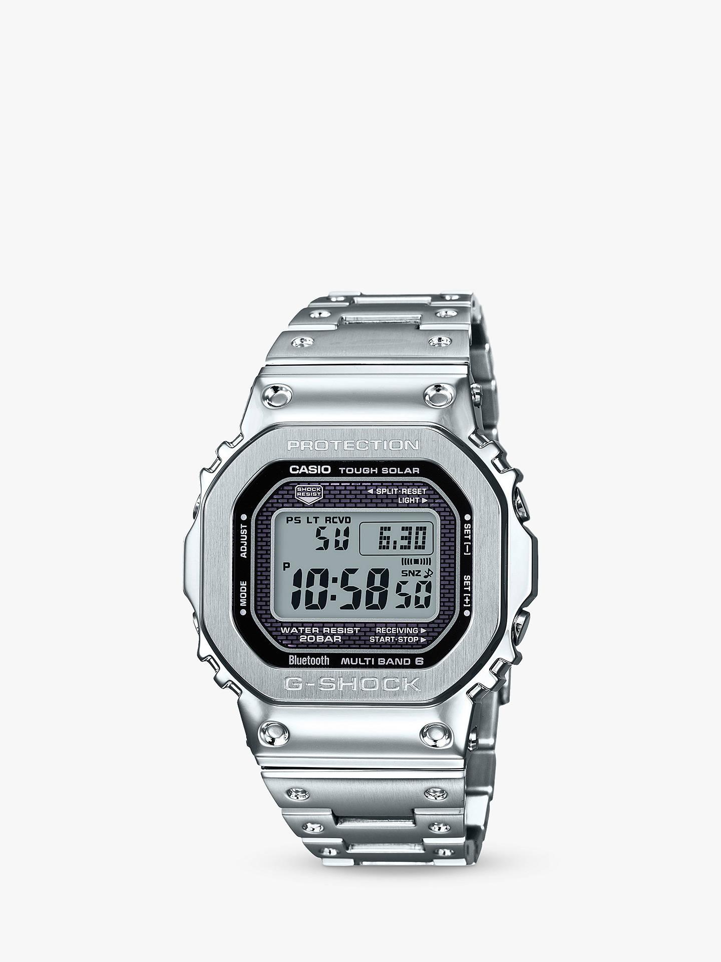 8b116e78f6f Casio Unisex G-Shock Digital Bracelet Strap Watch at John Lewis ...
