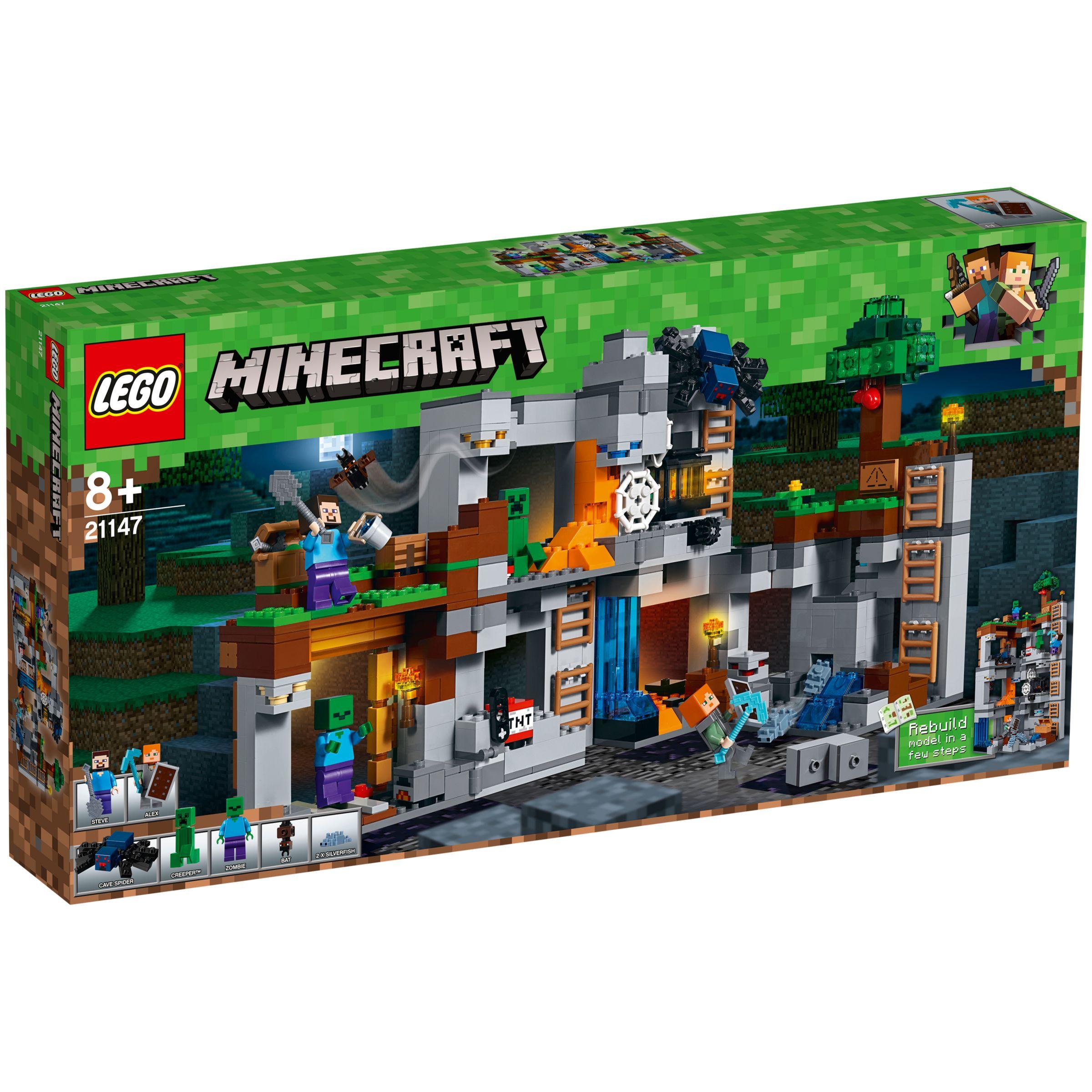 LEGO Minecraft 21147 Bedrock Adventures at John Lewis & Partners