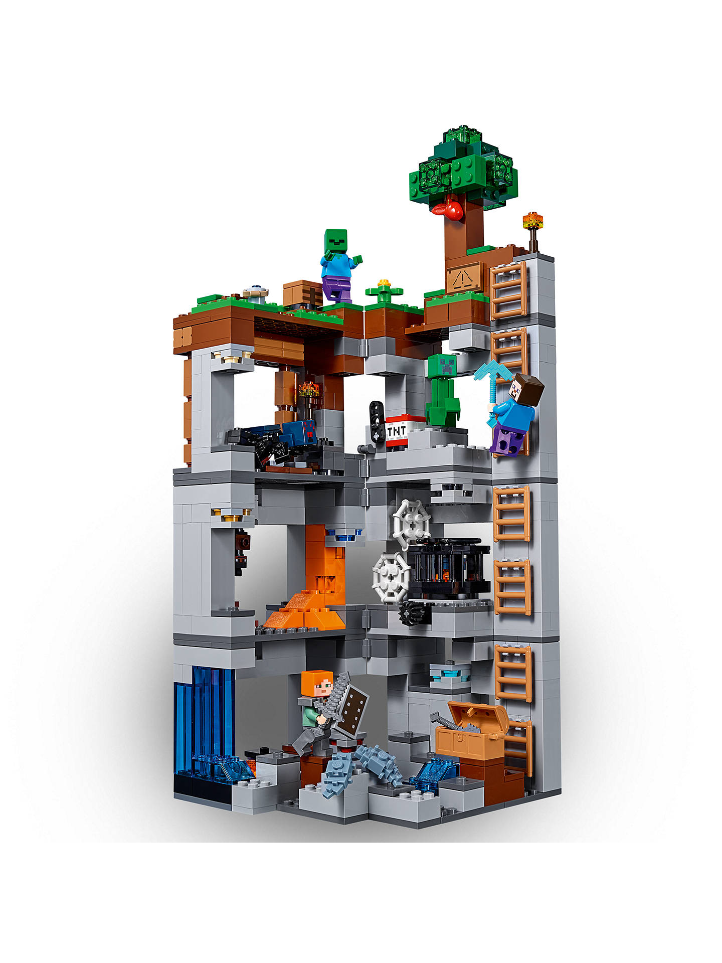LEGO Minecraft 21147 Bedrock Adventures at John Lewis ...