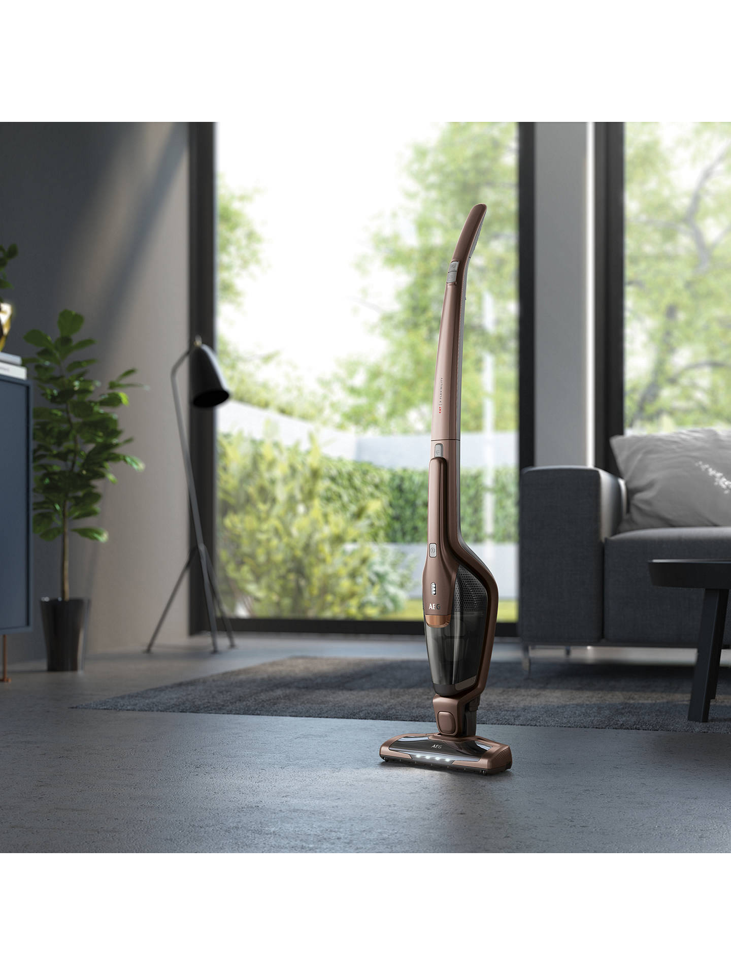 Buy AEG CX7-2-B360 Animal & Car Cordless 2-in-1 Detachable Handheld Vacuum Cleaner, Bronze Online at johnlewis.com