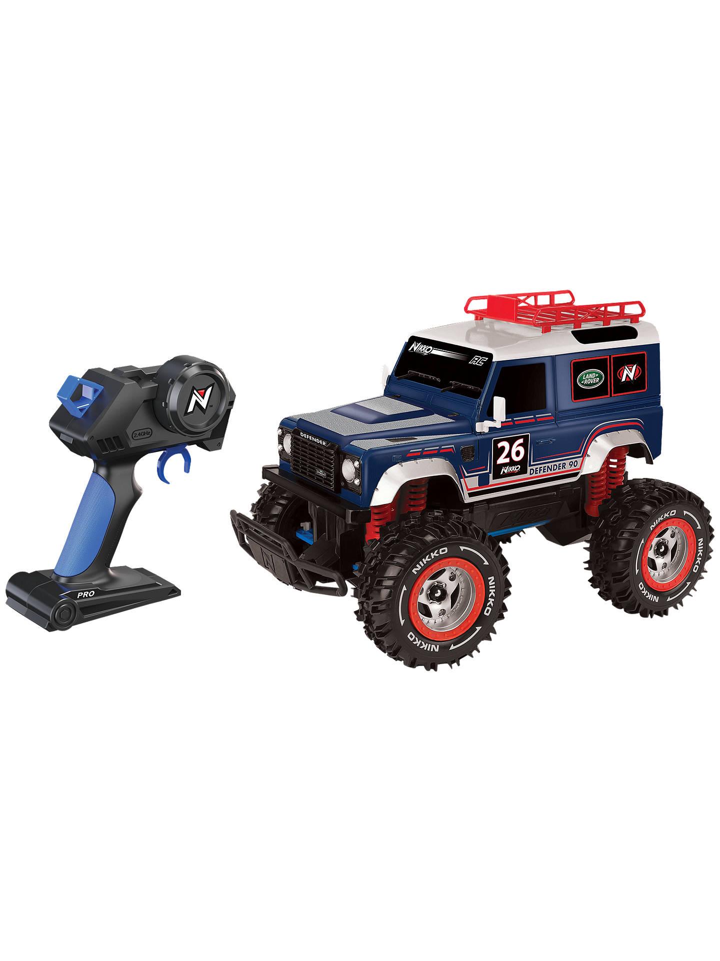 Nikko Land Rover Defender 90 Pro Remote Control Car At John Lewis