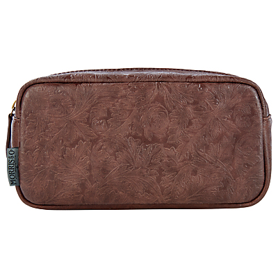 Morris & Co Wash Bag, Brown