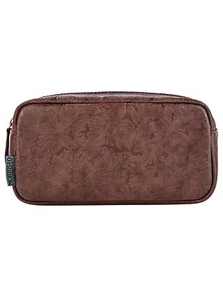 Morris & Co. Wash Bag, Brown