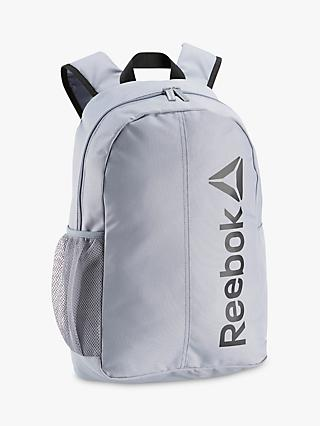 Reebok Act Core Grip Backpack, Cold Grey