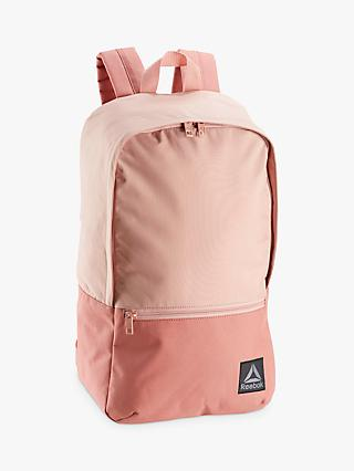 Reebok Style Found Backpack, Chalk Pink
