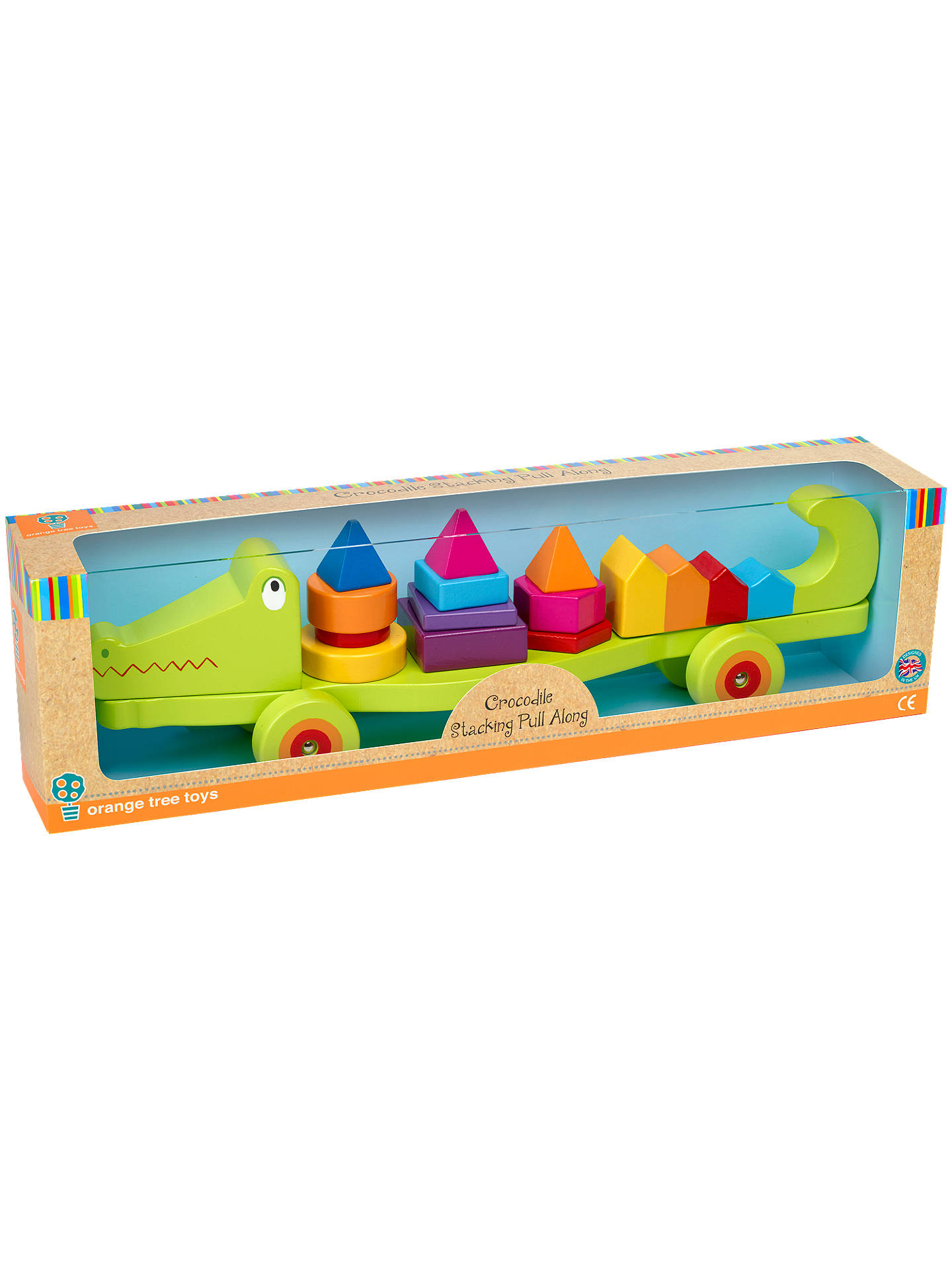 Buy Orange Tree Crocodile Stacking Pull Along Online at johnlewis.com