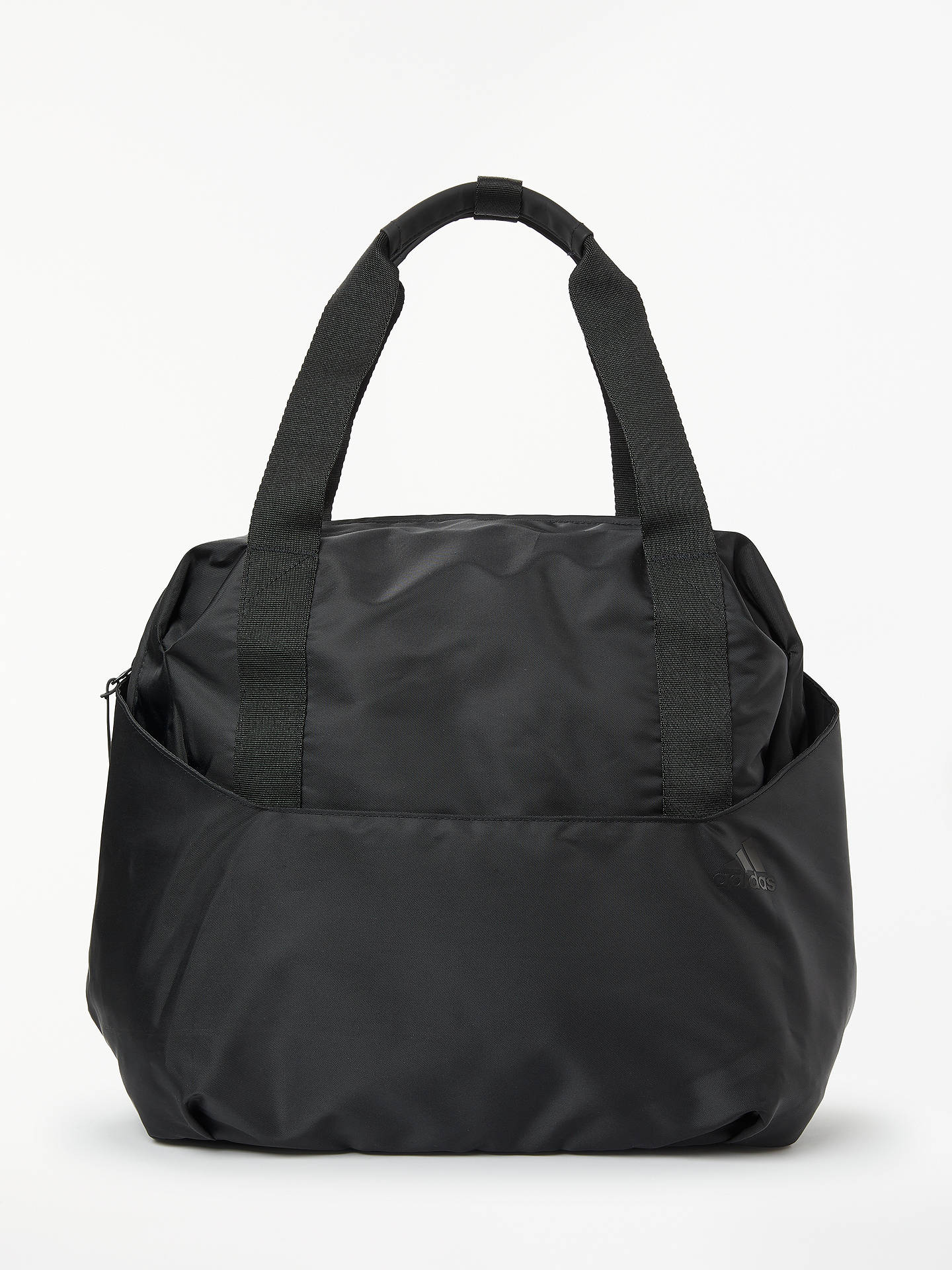 242928476 Buy adidas Training ID Tote Bag, Black Online at johnlewis.com ...