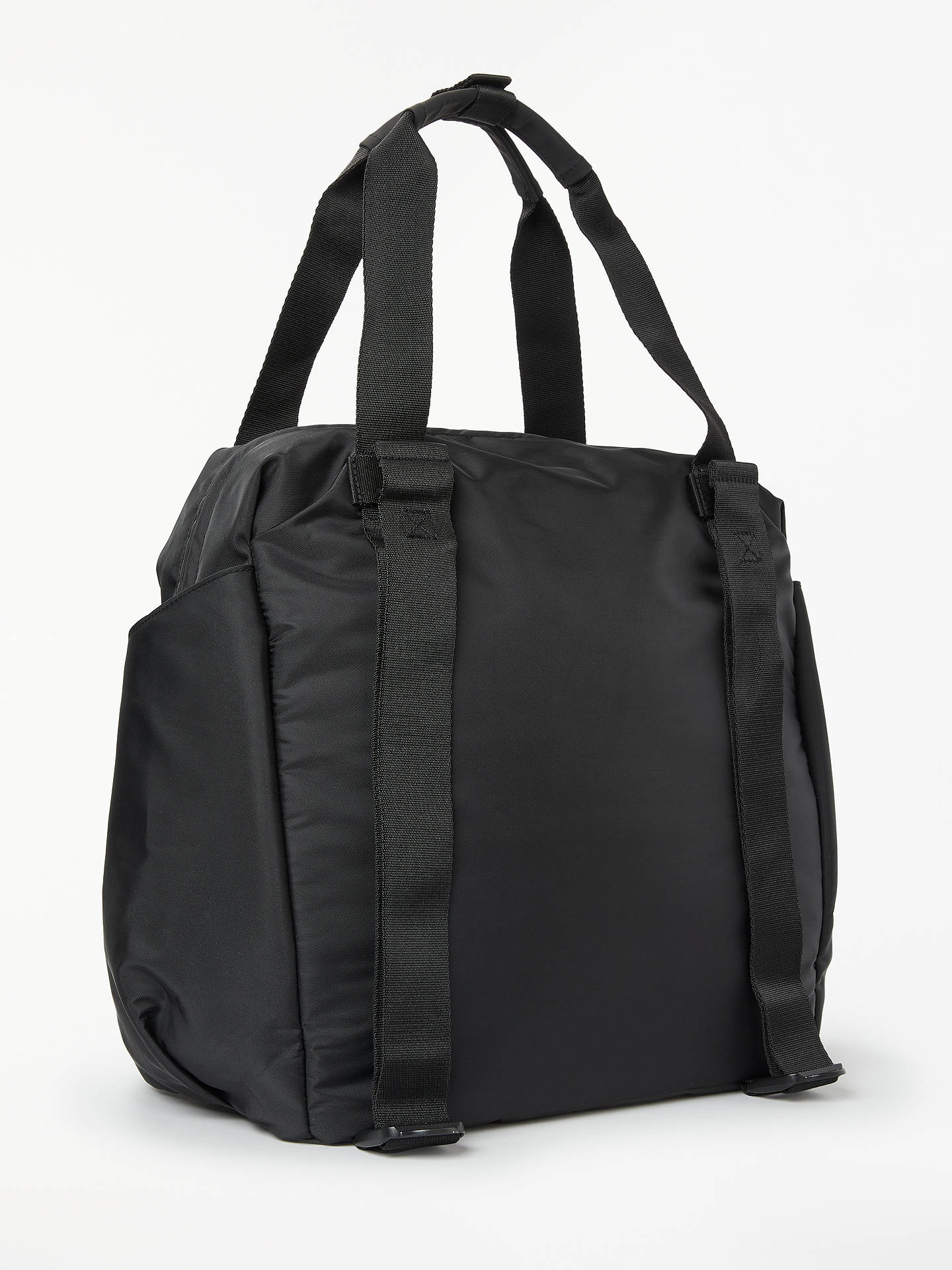 f80b7de71 ... Buy adidas Training ID Tote Bag, Black Online at johnlewis.com ...