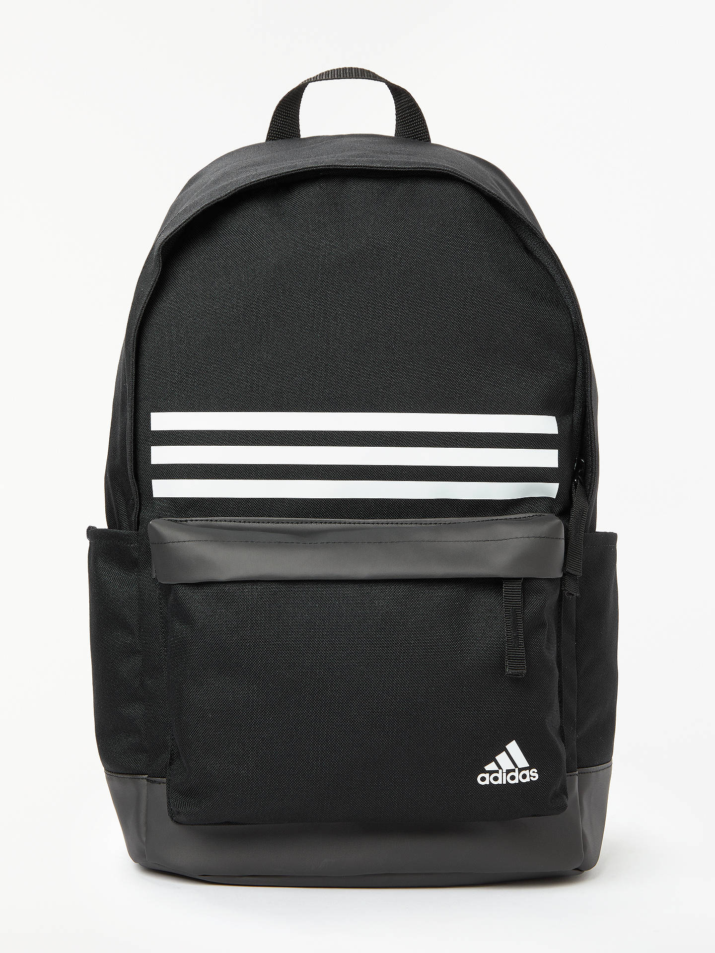 cb51a1a12a11 adidas Classic 3-Stripes Pocket Backpack at John Lewis   Partners