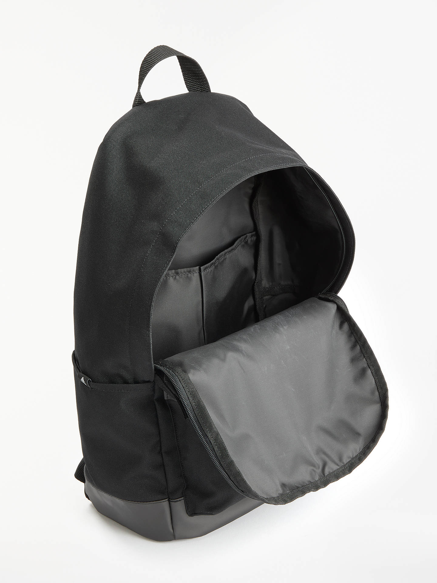 22a1a9be59 adidas Classic 3-Stripes Pocket Backpack at John Lewis   Partners
