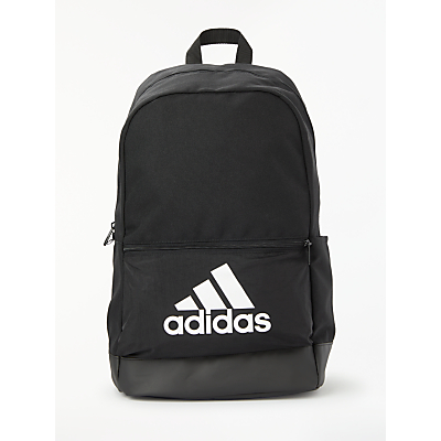 Image of adidas Classic Badge of Sport Backpack, Black/White