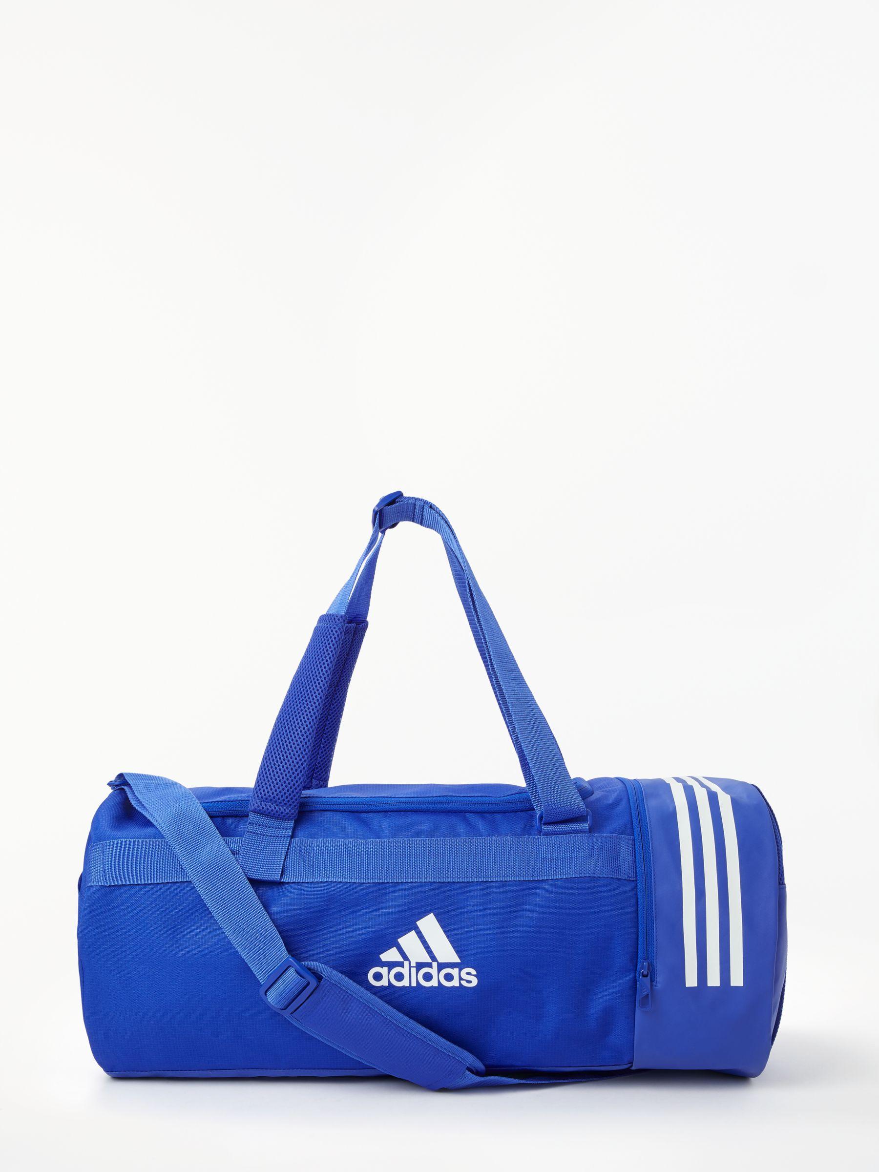 27079e721ac adidas Convertible 3-Stripes Duffle Bag, Medium at John Lewis   Partners