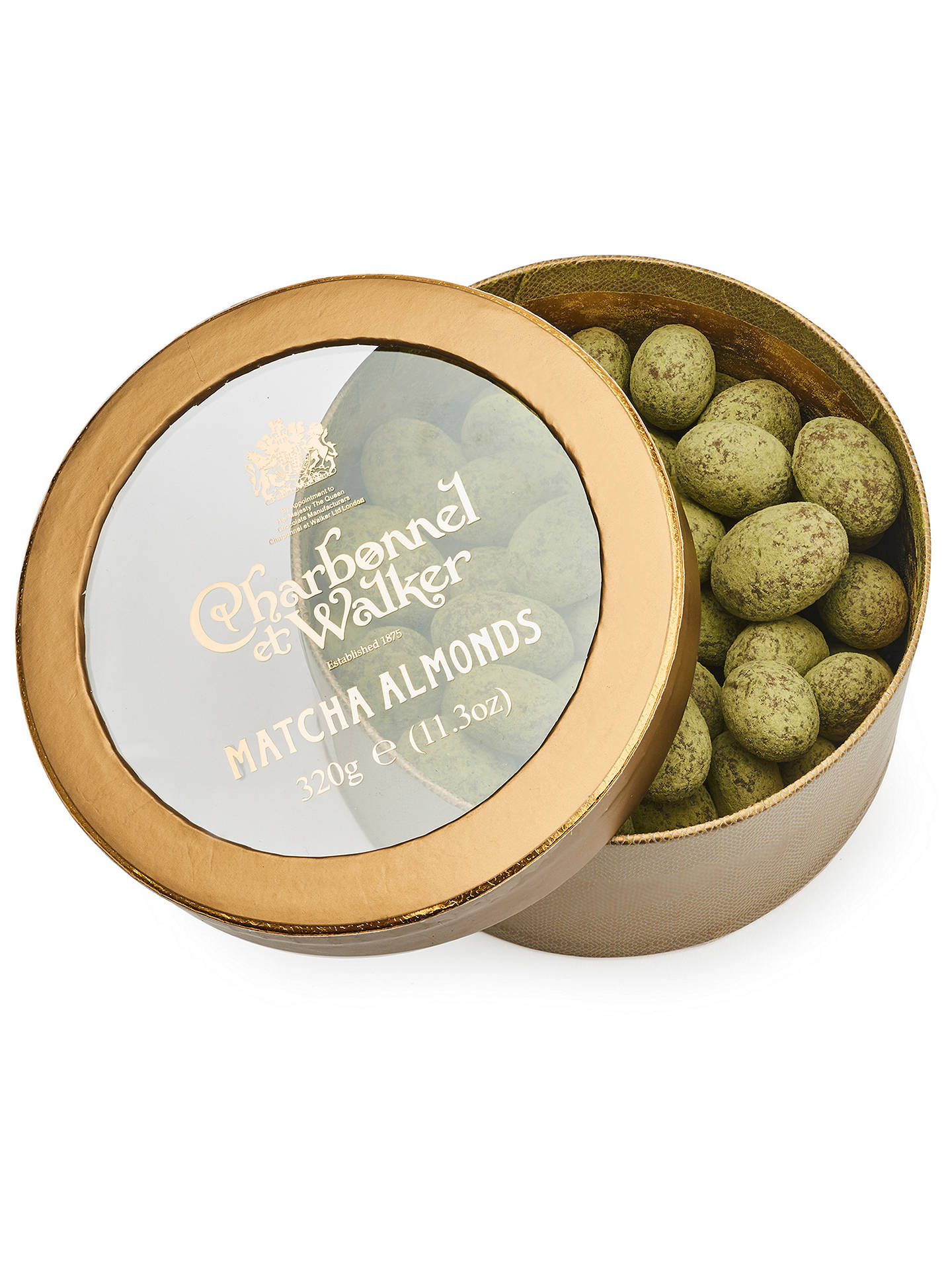 Buy Charbonnel et Walker Matcha Almonds, 320g Online at johnlewis.com