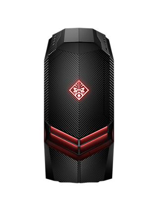HP OMEN Desktop 880-131na Tower PC, AMD Ryzen 5, 8GB, 1TB HDD + 128GB SSD, NVIDIA GTX 1050, Black