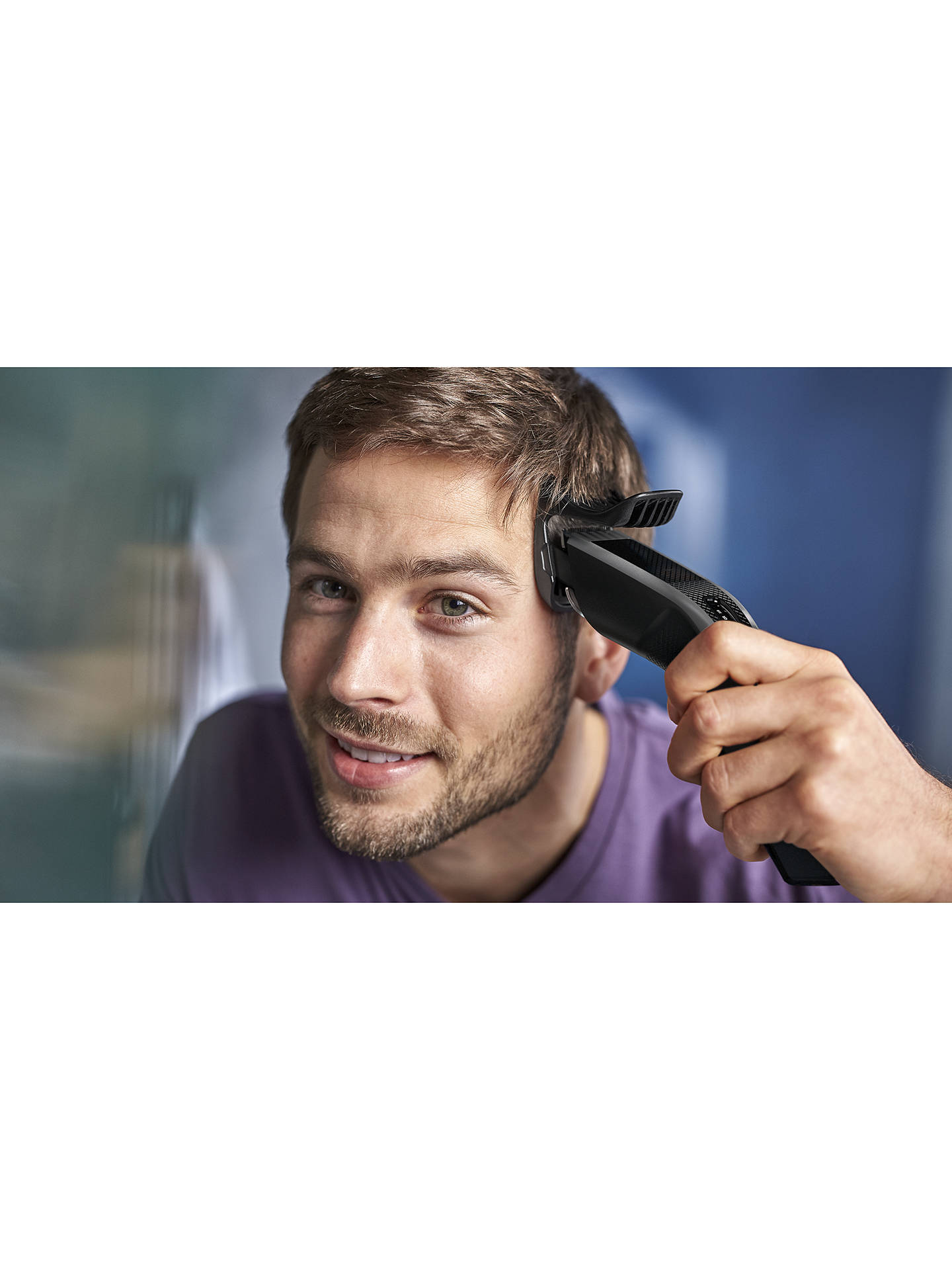 BuyPhilips HC3520/13 Series 3000 Hair Clipper, Grey Online at johnlewis.com