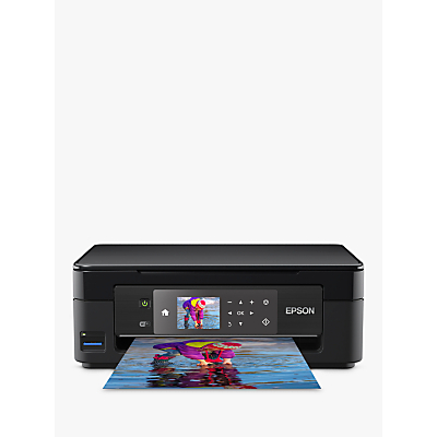 Image of Epson Expression Home XP-452 Wi-Fi All-in-One Printer, Black