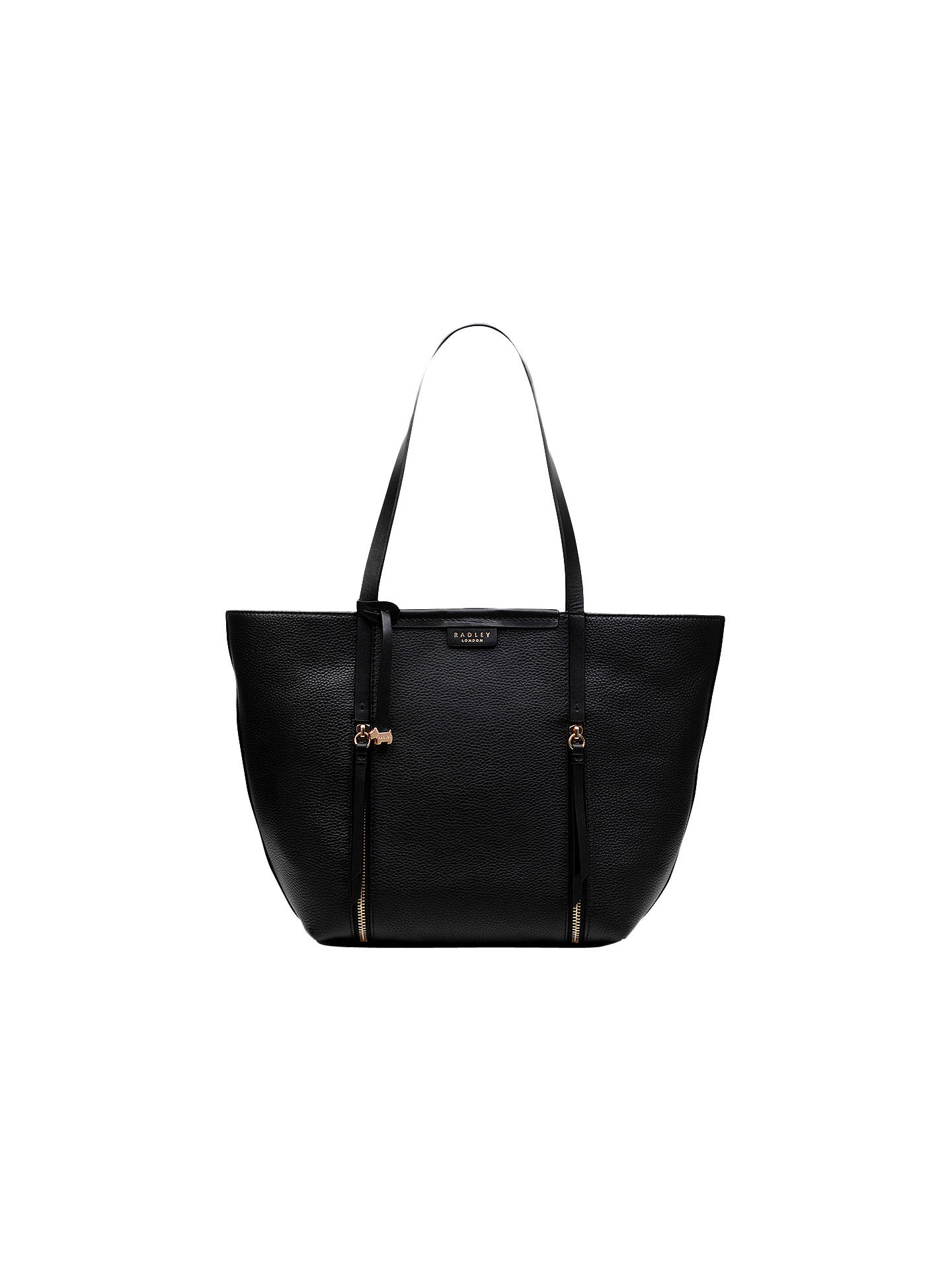 Radley Penhurst Leather Large Tote Bag Black Online At Johnlewis