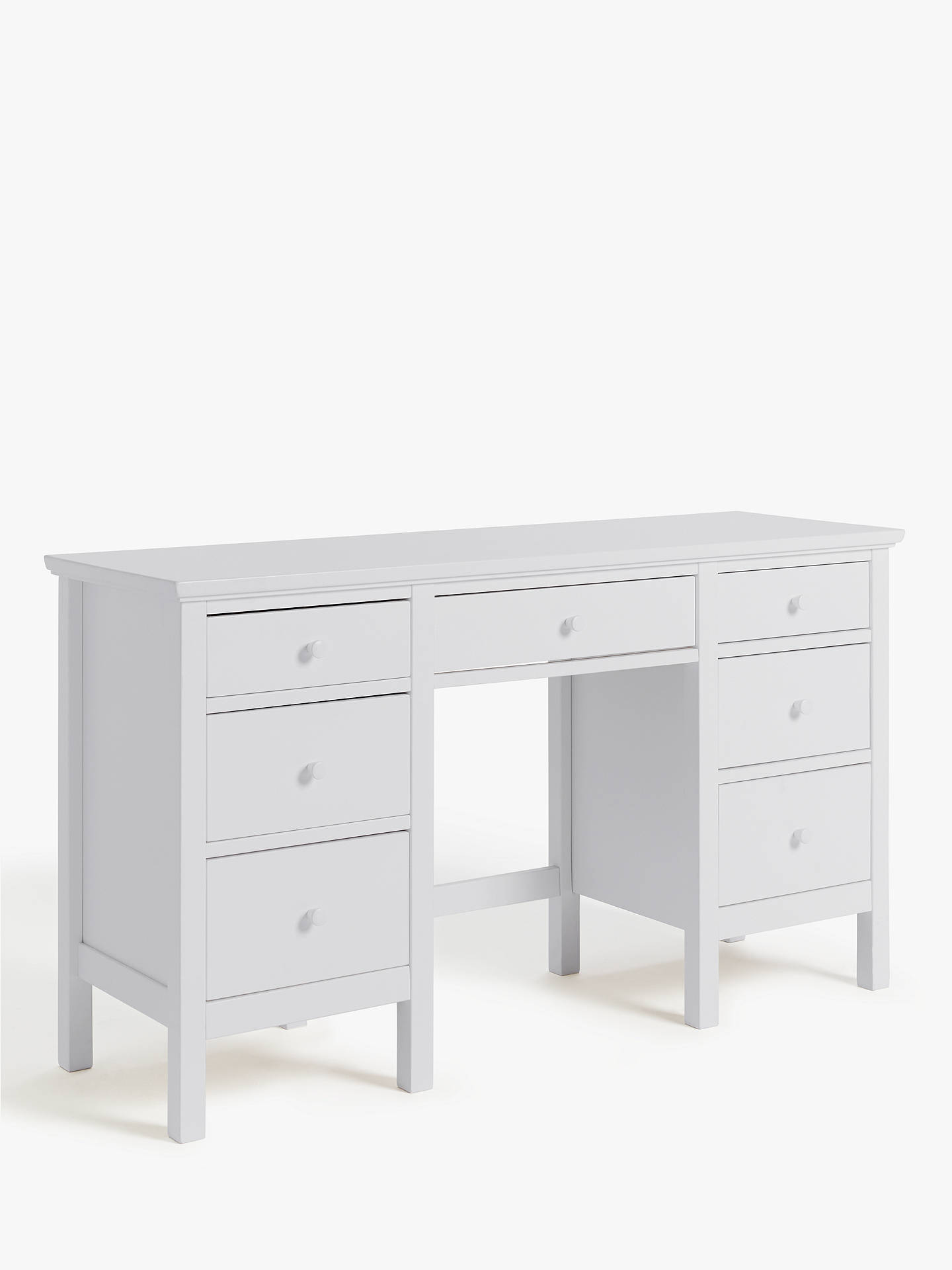 John Lewis Partners Wilton Dressing Table Grey