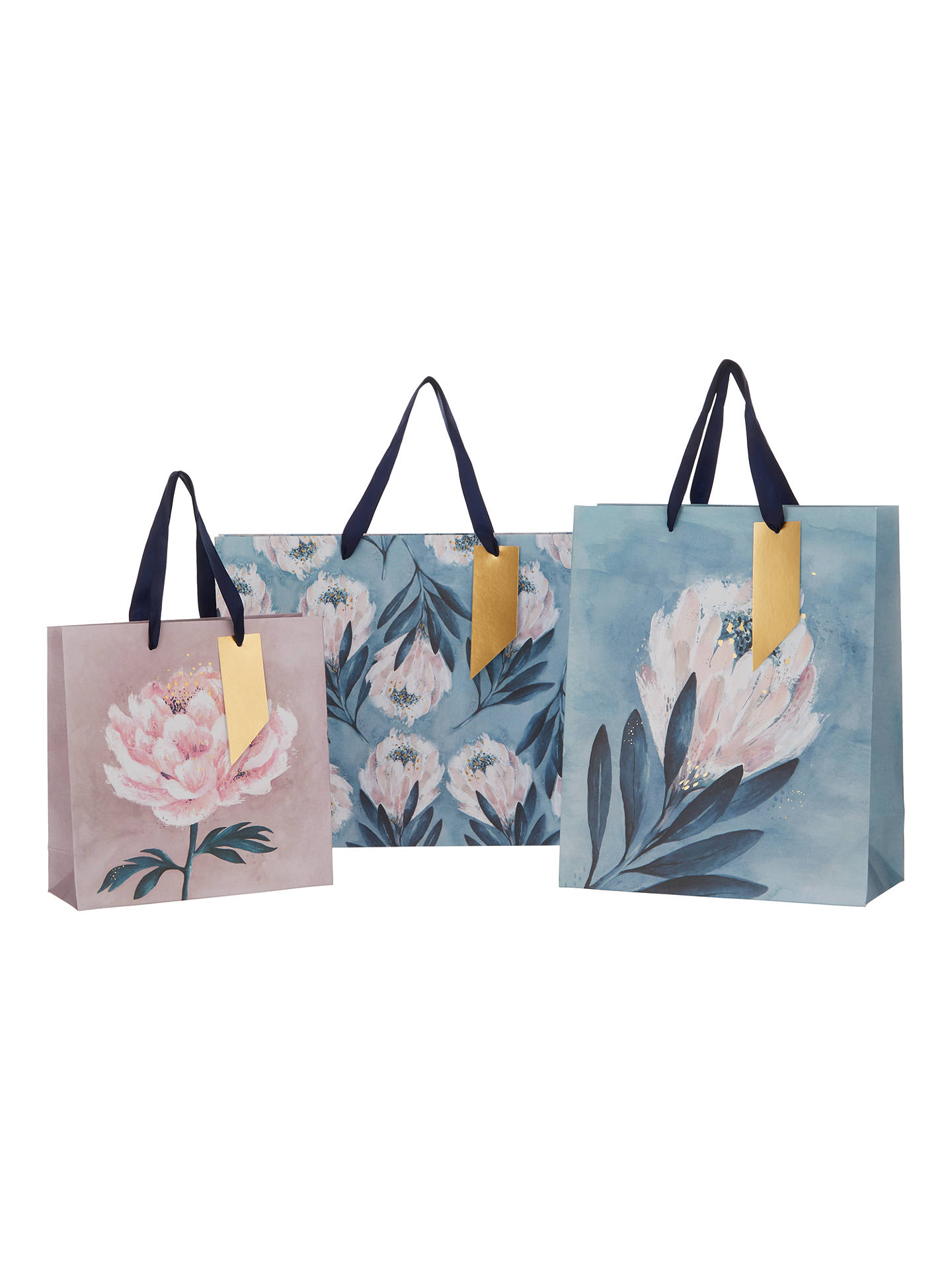 BuyHotchpotch Floral Gift Bag, Large Online at johnlewis.com