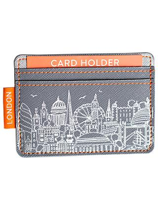 Sketch London Card Holder, Grey