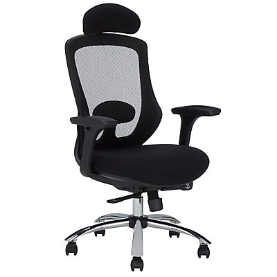 John Lewis & Partners Isaac Ergonomic Office Chair, Black