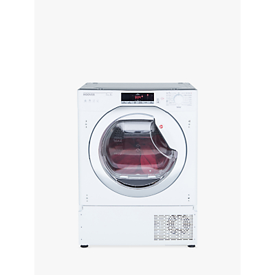 Image of Hoover HTDBW H7A1TCE Integrated Heat Pump Tumble Dryer with NFC, 7kg Load, A+ Energy Rating, White