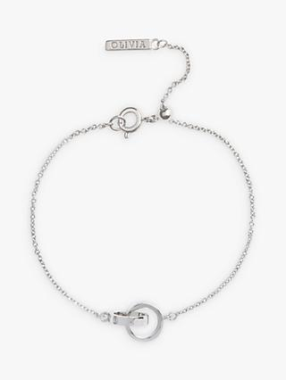 Olivia Burton Double Ring Chain Bracelet