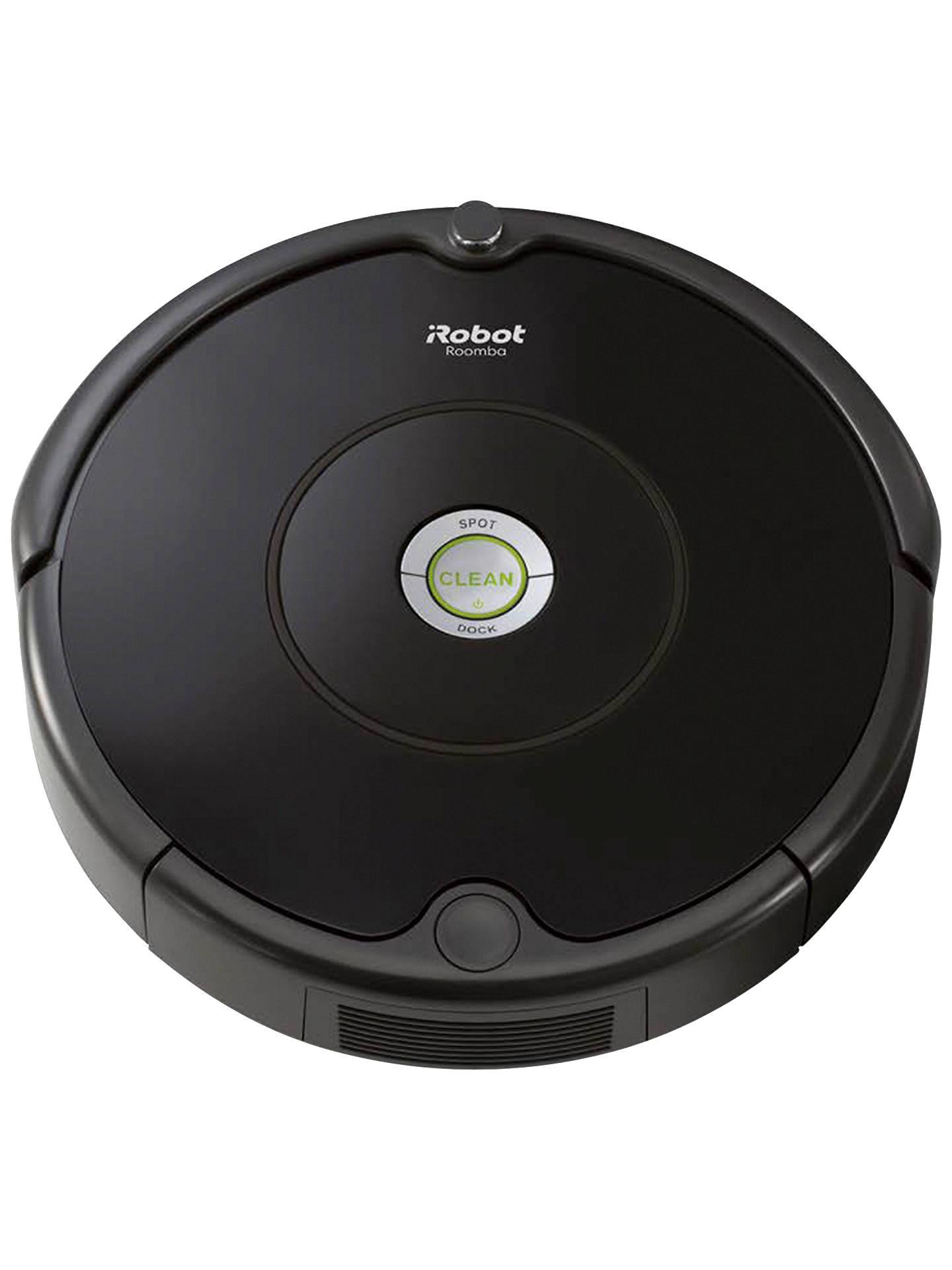 Irobot Roomba Robot Vacuum Cleaner Black John Lewis Amp Partners