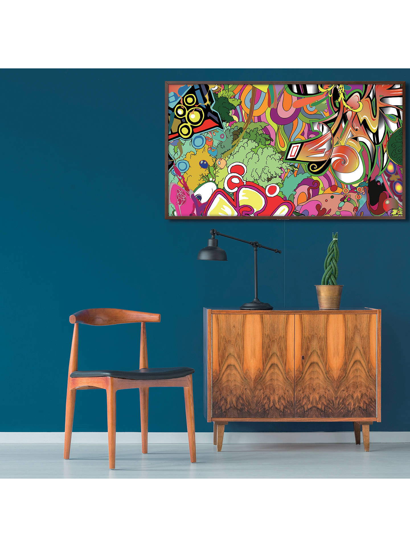 Buy samsung the frame 2018 art mode tv with no gap wall mount